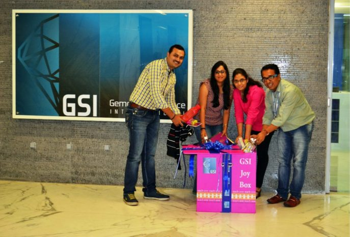 GSI team contributes in Joy Box
