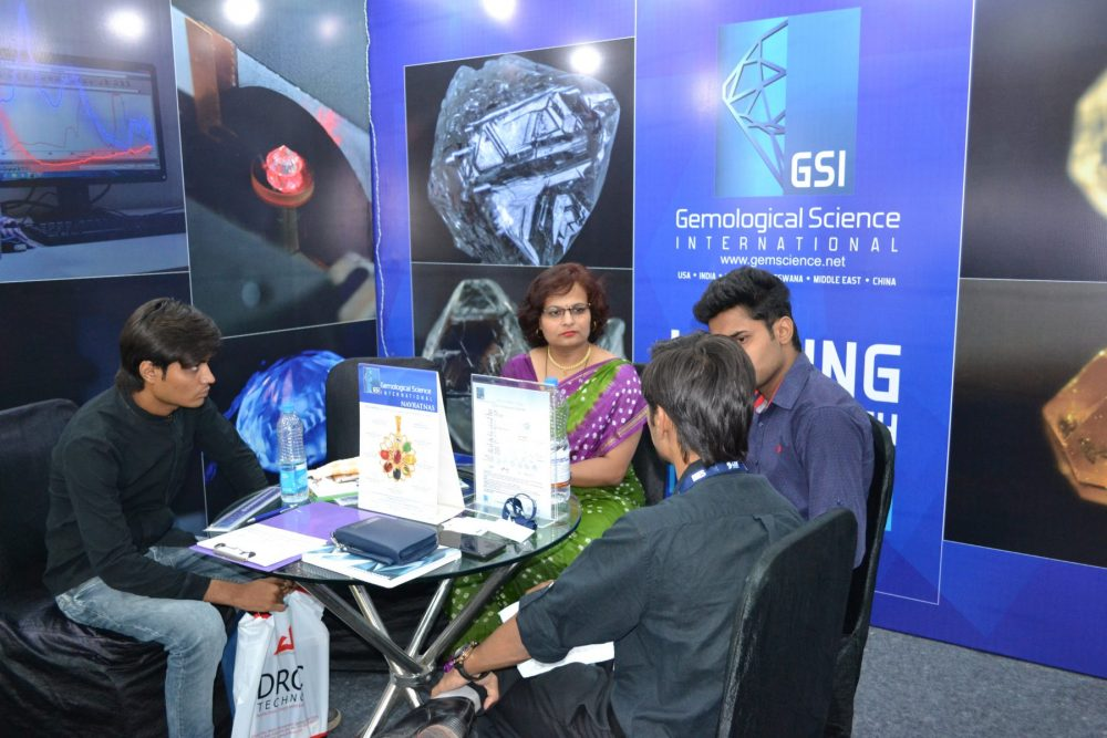 GSI the First Diamond Grading Institute to bring International Standards to India participates in the 2nd edition of DDES 4