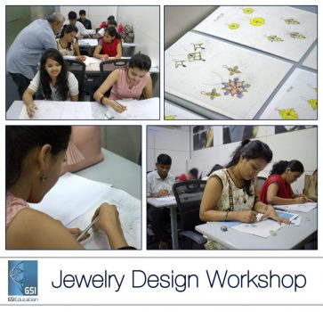 GSI successfully conducts its First Jewelry Design Workshop at GSI Knowledge Centre