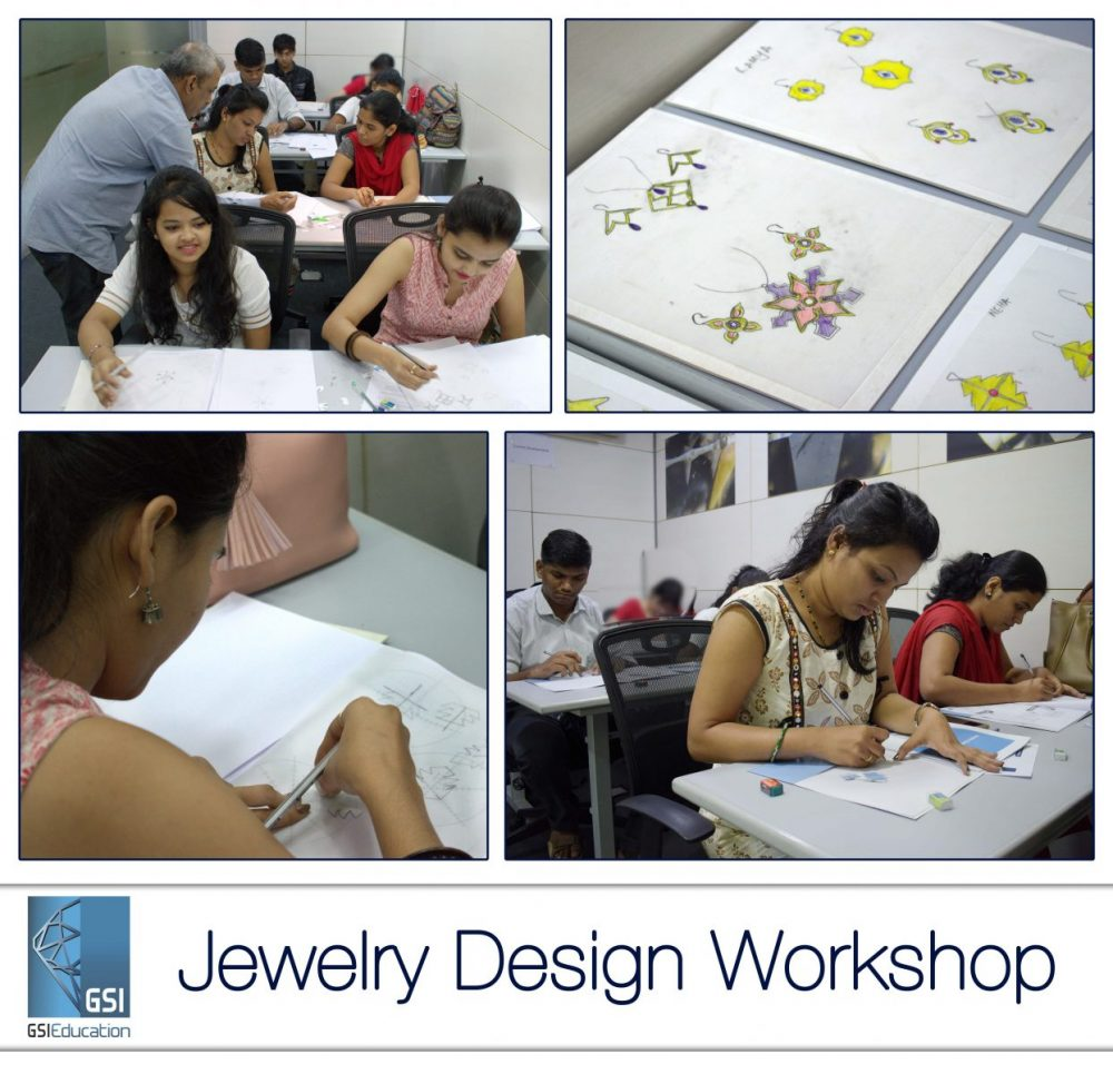 GSI successfully conducts its First Jewelry Design Workshop at GSI Knowledge Centre 1