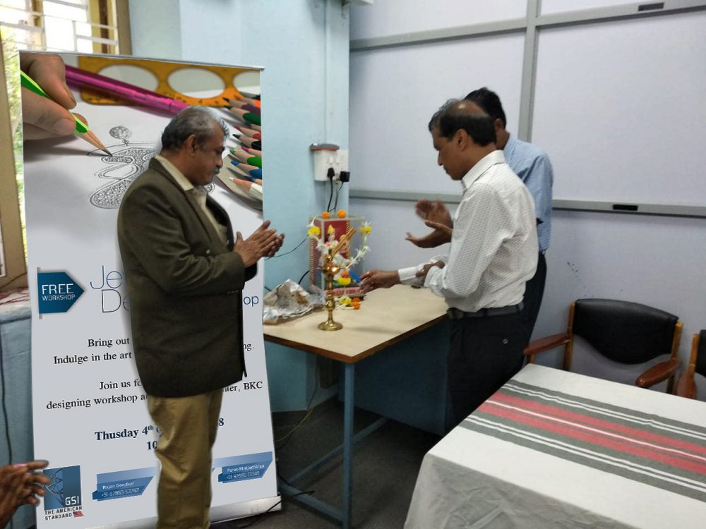 GSI' s YET ANOTHER SUCCESSFUL JEWELRY DESIGN WORKSHOP IN KOLHAPUR 4