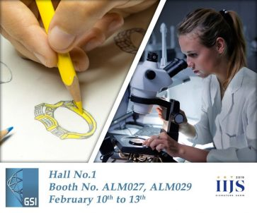 GSI TO HOST FREE JEWELRY DESIGN WORKSHOP AT BOOTHS ALM027- ALM029