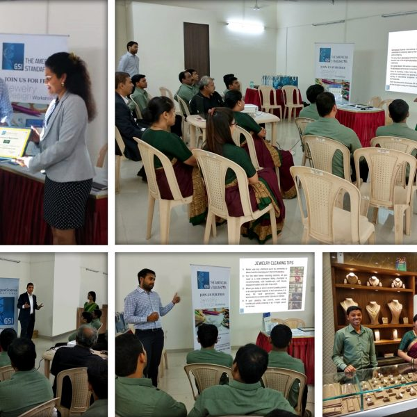 seminar on diamond 4'c and sales training