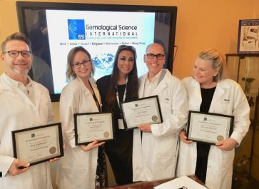 GEMOLOGICAL SCIENCE INTERNATIONAL PROVIDES TRAINING COURSE FOR FRED MEYER JEWELERS