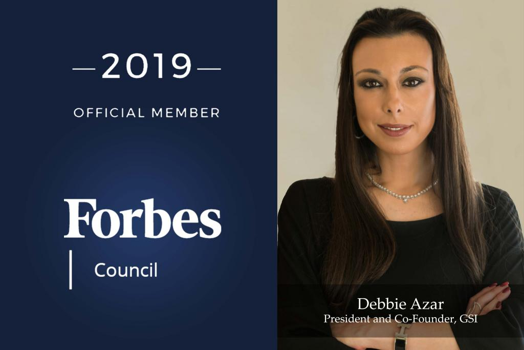 GEMOLOGICAL SCIENCE INTERNATIONAL (GSI) PRESIDENT AND CO-FOUNDER DEBBIE AZAR NAMED TO FORBES NEW YORK COUNCIL