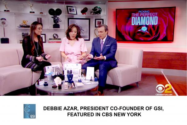 DEBBIE AZAR, PRESIDENT CO-FOUNDER GSI, INTERVIEWED BY CBS NEWS