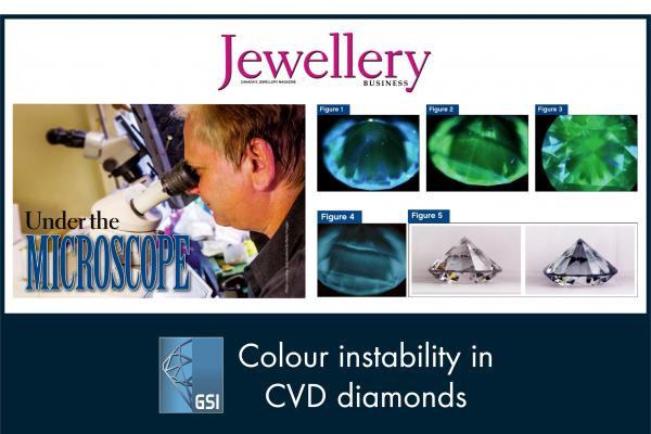 UNDER THE MICROSCOPE ARTICLE BY NICHOLAS DELRE- JEWELLERY BUSINESS MAGAZINE