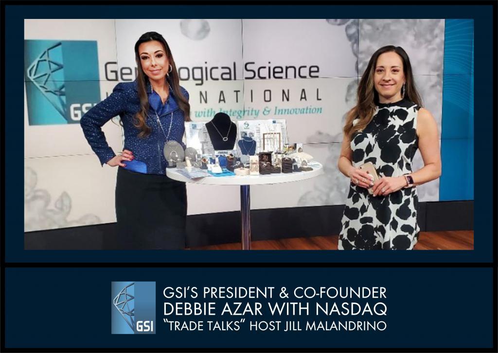 GSI's PRESIDENT AND CO-FOUNDER DEBBIE AZAR ON TRADE TALKS NASDAQ, NEW YORK