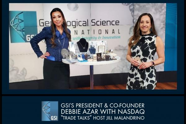 GSI's PRESIDENT AND CO-FOUNDER DEBBIE AZAR ON TRADE TALKS NASDAQ, NEW YORK