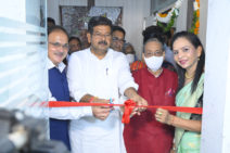 Ribbon-cutting ceremony of GSI Office & Lab (1)